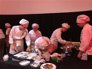 Middle Bucks Culinary Arts & Sciences students participated in culinary competitions