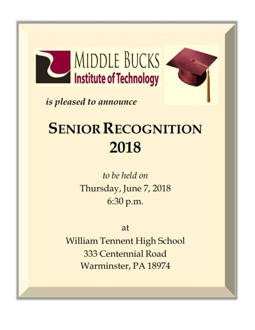 SR Recognition Ceremony