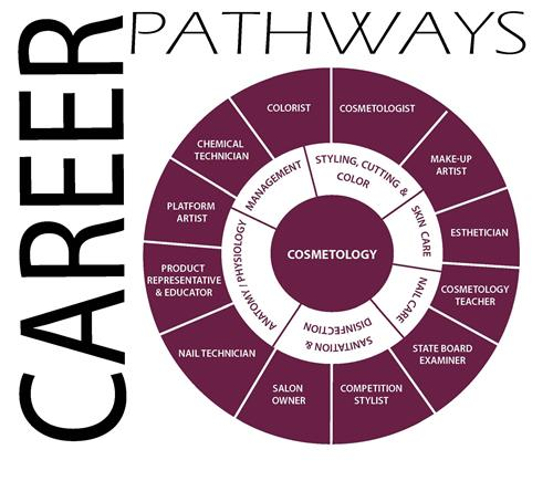 Cosmetology Career Wheel