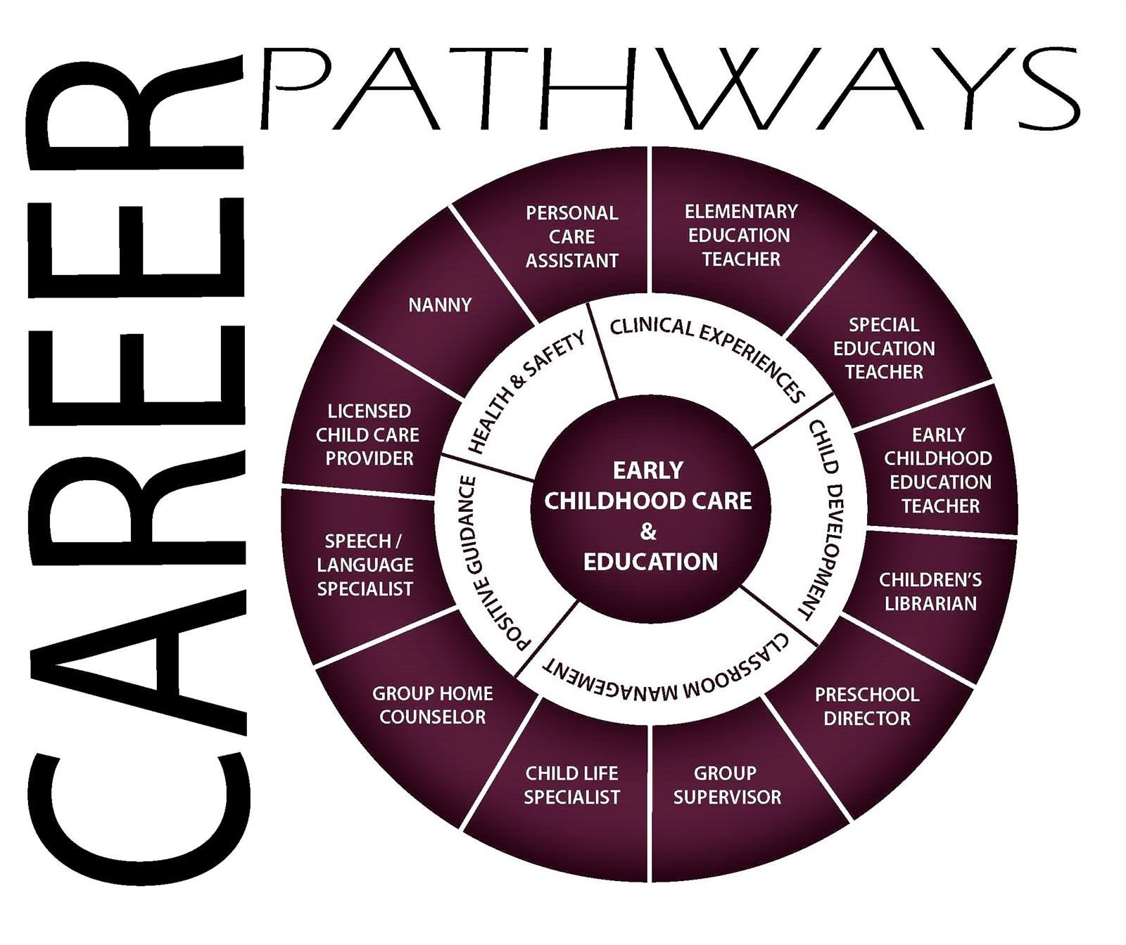 Early Childhood Care Career Wheel