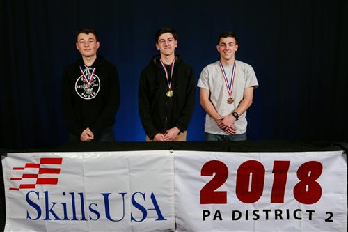 SkillsUSA gold Medal winner